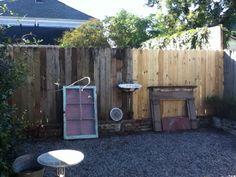 Wooden fence repairs and installations