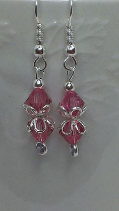 Be Mine Dangle Earrings by Newyearcreations on Etsy, $15.00