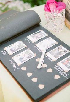 Libro de firmas con polaroid: actividades originales para una boda - Actividades originales y divertidas para una boda - enfemenino