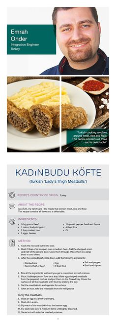 Graham n from ericsson teaches us how to make scottish shortbread try kadinbudu kfte a turkish meal ericssons emrah o prepared with meat rice fandeluxe PDF