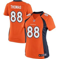Demaryius Thomas Elite Jersey-80%OFF Nike Demaryius Thomas Elite Jersey at Broncos Shop. (Elite Nike Women's Demaryius Thomas Orange Jersey) Denver Broncos Home #88 NFL Easy Returns.