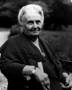 Dr. Montessori is an inspiration to all the Cave Creek Montessori teachers!