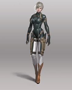 art-of-cg-girls:  Military Suit by Heo Ilhaeng