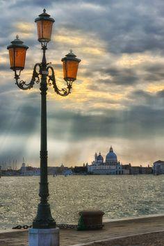 Sunset in Venice, Italy -- photo: Stan Petru, province if Venezia , Veneto