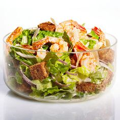 Shrimp Caesar Salad #recipe