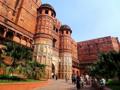Agra Fort - History, Facts, Images and Attractions | Uttar Pradesh