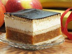 Jabłecznik na herbatnikach bez pieczenia Polish Desserts, Polish Recipes, Food Cakes, Cupcake Cakes, Mellow Yellow, Homemade Cakes, Yummy Cakes, No Bake Cake, Cake Recipes