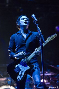 Brian Molko - Pic by Kymmo