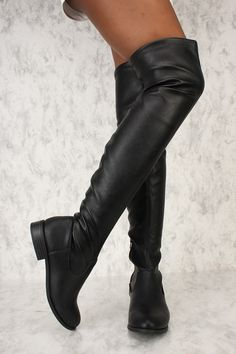 black high heels for girls Thigh High Boots, High Heel Boots, Over The Knee Boots, Heeled Boots, Shoe Boots, Women's Boots, Chanel Boots, Girls Heels, Vintage Boots