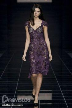 Вязание крючком - Мода как чувство от Флоры Мази
