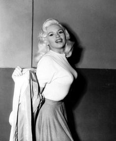 Jayne Mansfield (born Vera Jayne Palmer; April 19, 1933 – June 29, 1967) was an American actress who worked in Hollywood and on Broadway. Description from pinterest.com. I searched for this on bing.com/images