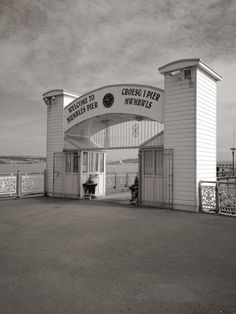 entrance to Mumbles Pier Wales Uk, South Wales, Swansea Wales, London Party, Rock Pools, Blackpool, Celtic, Entrance, Memories