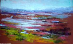 Breton Michel - out before the tide Soft Pastels, Chalk Pastels, Michel, Oeuvre D'art, Quebec, Les Oeuvres, Artworks, Abstract Art, Drawings