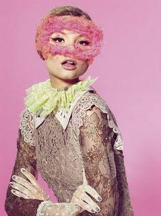 Magdalena Frackowiak  by Richard Burbridge for Vogue Italia, 2011