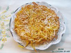 TORTA DI TAGLIATELLE Ricetta regionale dolce