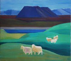Louisa Matthiasdottir is my favorite Icelandic artist.