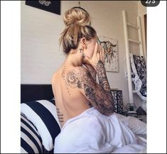 Top badass tattoos for girls 2019 – pop tattoo page 9 ~ thereds.me - Top badass tattoos for girls 2019 – pop tattoo page 9 ~ thereds. Tattoos For Women Half Sleeve, Best Sleeve Tattoos, Tattoo Sleeve Designs, Sleeve Tattoo Women, Shoulder Tattoos For Women, Tattoo Designs For Women, Girl Tattoo Sleeves, Female Arm Sleeve Tattoos, Women Leg Tattoos