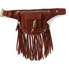 Giuseppe Zanotti Design fringed bum bag