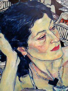 Hope Gangloff - love the colors in the skintones Painting Inspiration, Art Inspo, Hope Gangloff, Wow Art, Portrait Art, Portrait Acrylic, Art Plastique, Art Sketchbook, Figure Painting
