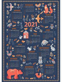 Dog Calendar, Free Calendar, 2021 Calendar, Wall Calendar Design, Bullet Journal Ideas Pages, Bullet Journals, Folk Fashion, Logo Design Inspiration, Design Ideas