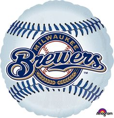 18'' Milwaukee Brewers Foil Balloons (Pack of 5)