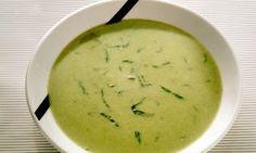 Caldo verde com mandioquinha