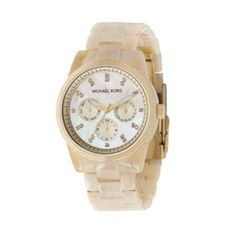 Montre MICHAEL KORS Horn jet set watch en pvc -