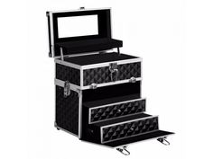 Portable Cosmetic Beauty Makeup Case Dia... is listed For Sale on Austree - Free Classifieds Ads from all around Australia - http://www.austree.com.au/miscellaneous-goods/all-miscellaneous-goods/portable-cosmetic-beauty-makeup-case-diamond-black_i3240