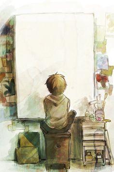 无论你多么讨厌你的学校,当你离开久了,还是会想念它。 Manga Art, Manga Anime, Anime Art, Anime Pokemon, Blank Canvas, Empty Canvas, Big Canvas, Anime Guys, Amazing Art