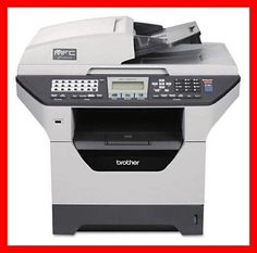 BROTHER MFC-8870DW Printer w/ NEW Toner & NEW Drum -- Totally CLEAN -- REFURB !!