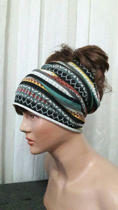 Knit Button Headband Winter Headband Earwarmer Chunky Yoga Headband Fitness Headband Running Headband   Earwarmer CHRISTMAS in JULY SALES