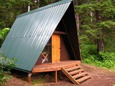 a frame cabin plans canada
