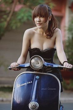 Scooter Woman