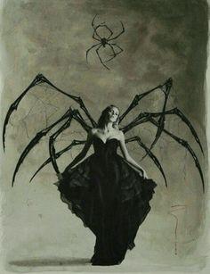 Halloween style!! The Dark Spider Queen! Let's Dance!