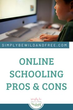 Is online schooling right for your child? All the pros and cons of online schooling, virtual learning, and online public schools for kids. One homeschool mom's experience. #homeschool #homeschooling #onlineschool #virutualschool #k12 Online Homeschooling, How To Start Homeschooling, Homeschool Kindergarten, Homeschool Curriculum, Learning Resources, Teaching Ideas, Online Schooling, Parenting Teenagers, Online Programs