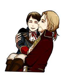 Haytham and edward kenway :)