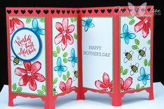 http://nicolejuliewilson.blogspot.com.au/#TGIFC52 Screen Card Mothers Day with Garden in Bloom www.facebook.com/NicoleWilsonStamp #stampinup