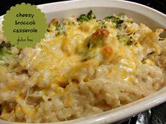 5/5 Stars - cheesy broccoli casserole gluten free vegetarianmamma.com