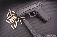Glock 20 SF 10mm  Simplicity, versatility and reliability in a big-bore personal defense 10mm pistol!