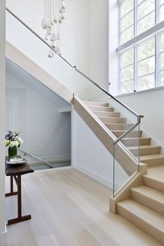 Ordinaire Contemporary Steel U0026 Glass Staircase Stair Railing, Railing Ideas,  Railings, House Stairs,