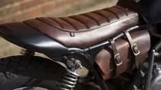 Influx visits the English flatlands of Suffolk to admire a functional custom motorcycle with style...