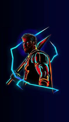 Thor in Avengers. If you think about it Thor has lost so much Marvel Dc Comics, Marvel Avengers, Captain Marvel, Heros Comics, Marvel Fan, Marvel Heroes, Captain America, Marvel Wallpapers, Iphone Wallpapers