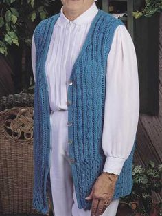Long & Lean Sweater Vest