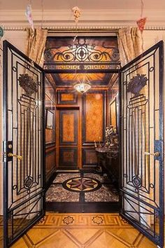 great art deco doors