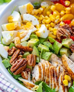 Grilled Chicken Salad + Homemade Sweet Onion Dressing = WINNER! | Clean Food Crush