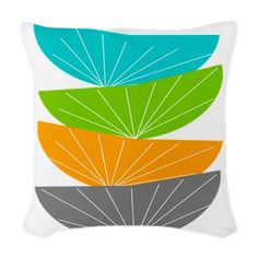 Woven Throw Pillow on CafePress.com http://www.cafepress.com/+woven_throw_pillow,1336338074 $29.99 #midcenturymodern #retro #vintage