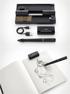 Wacom Inkling - digitally captures what you draw