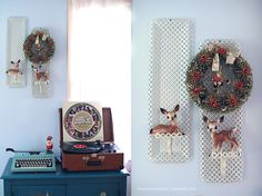 Gypsy Beard: Retro Christmas Decorating Inspiration