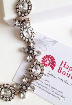 Jasmine Blossom Statement Necklace 22,90 € #happinessbtq