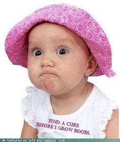 """""""ASK ME AGAIN! Ask me again when I'm having kids!"""" #breastcancerawareness"""
